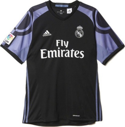 Camiseta Real Madrid 2016 2017 Tercera (1).  Camiseta Real Madrid 2016 2017 Tercera. El nueva camisetas de futbol Real  Madrid ... 96c765a5758bd
