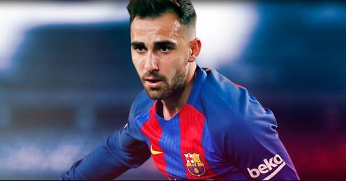 Camisetas del Barcelona baratas - Nueva equipacion Paco Alcácer 2017 2018 - cro2017
