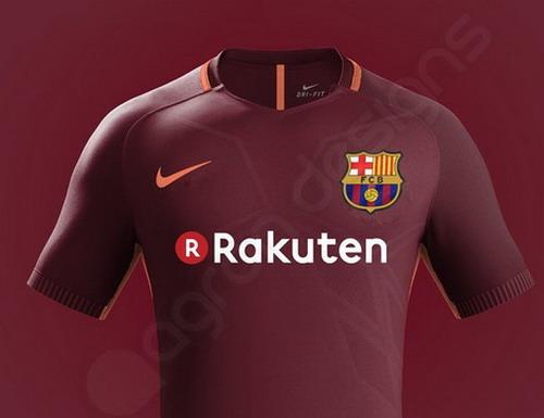 Camisetas de futbol baratas Barcelona 2017 2018 (4) 81483cd558ce6
