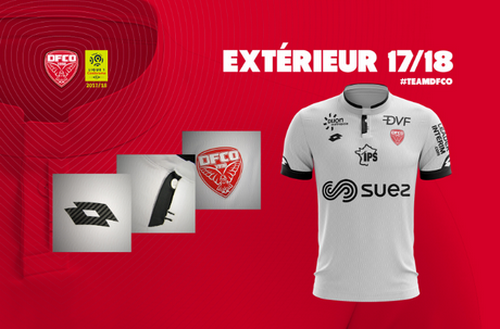 Camisetas del Dijon baratas 2017-2018 Segunda (3). El camisetas del Dijon baratas  2017-2018 Segunda sustituye a rojo ... 8ea5dd2e0c11d