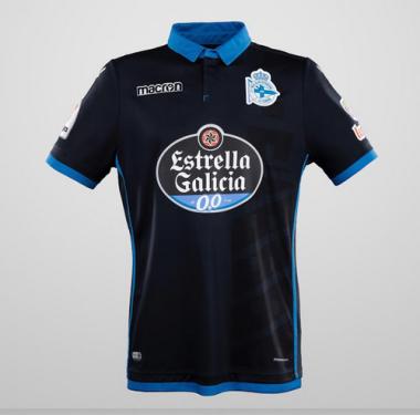 Replicas camisetas futbol La Coruna baratas 2017 2018 Tercera (3) e59993ccb0f67