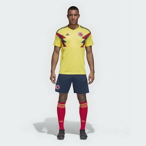 Replicas camisetas futbol Colombia 2018 2019 local - camisetas de futbol baratas 2020